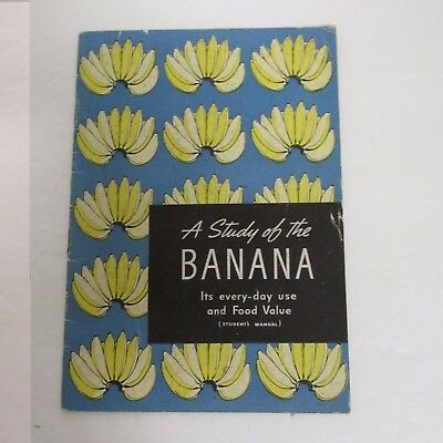 A Study Of The Banana 1940 Booklet