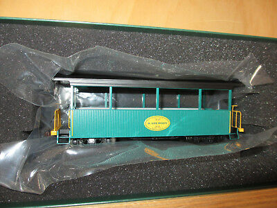 BACHMANN LILIPUT SPECTRUM On30 26005 OPEN EXCURSION CAR LEE RILEY GEDENKWAGEN
