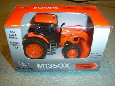 Kubota  M135Gx Pull & Go Tractor W/loader 1/64 Free Ship In U.s.dealer Only