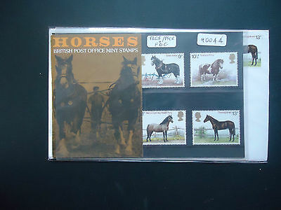 Great Britain 1978 Presentation Pack + FDC Horses