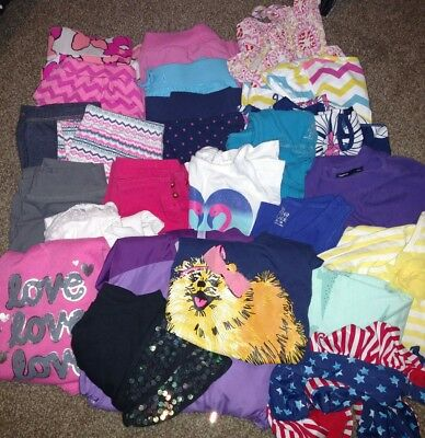 Huge Lot of Girl's Size 6-7 Clothing