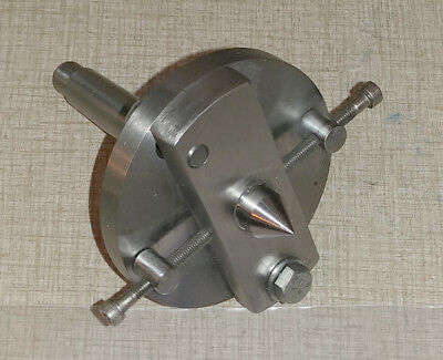 Shop Made Adjustable Dead Center MT2 used w/ Emco Compact 8 Lathe 1025