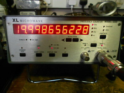 XL Microwave 20GHz frequency counter, Model 3200