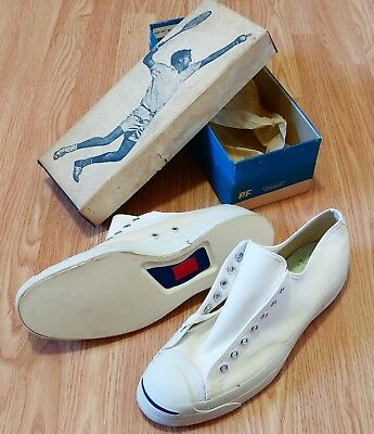 Jack Purcell BF Goodrich PF Posture Foundation Sanitized Rigid Wedge USA Made Og
