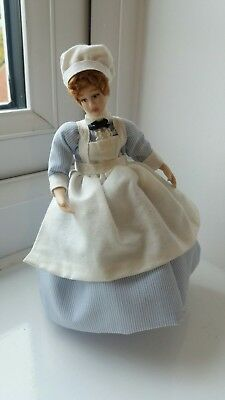 DOLLS HOUSE MINIATURE 1/12 th SCALE BEAUTIFUL SMALL FRY NURSEMAID DOLL