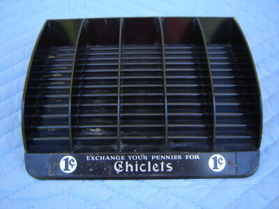 Vintage Store Counter Display: Chiclets Gum