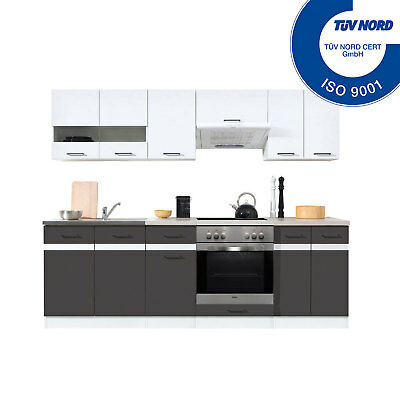 komplettk che k chenzeilen mit e ger te bosch ceran kir7040 eur 151 00 picclick de. Black Bedroom Furniture Sets. Home Design Ideas