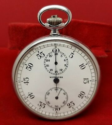 Lecoultre Wittnauer US Navy Military Stopwatch Timer Vintage Extremely Rare!