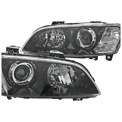 Holden VE Commodore Series 1 '06-'10 Black SSV Calais Headlights Set