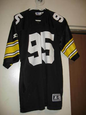 f5be65b5d Pittsburgh Steelers Greg Lloyd  95 Vintage Home Jersey L Xl Starter Minty  Rare