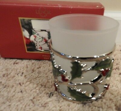 Nib Lenox Holiday Votive Holder