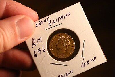 ESTATE FIND - 1826 Great Britain Gold Sovereign KM 696 - HTF - Nice Coin!!!