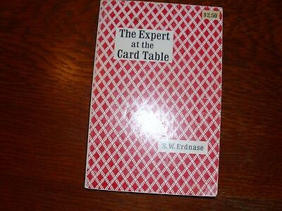 SOFT COVER BOOK THE EXPERT AT THE CARD TABLE by S.W.ERDANASE