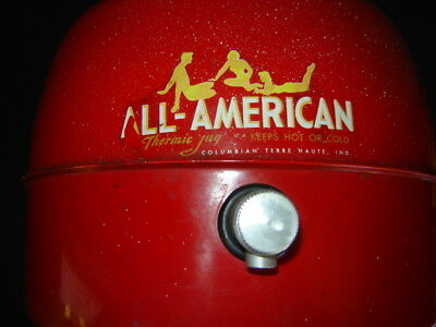 Vintage Picnic Cooler - All American