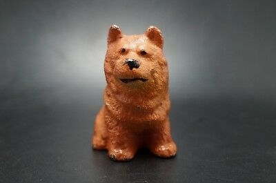VTG Cast Iron Hubley CHOW CHOW Dog Party Favor