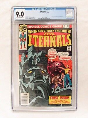 Eternal #1 (1976) Jack Kirby CGC 9.0 Marvel Comics CM140