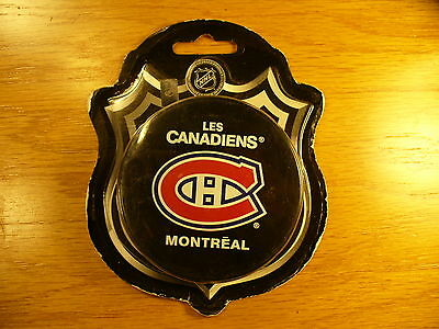NHL Montreal Canadiens Souv. Blister Pack Hockey Puck New Check My Other Pucks