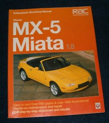 1999 mazda mx5 miata convertible bodyshop shop service repair manual rh picclick com 1996 Miata 1996 Miata