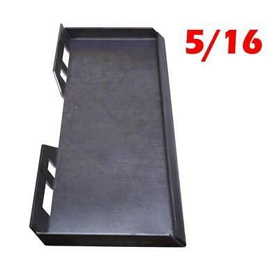 "5/16"" Quick Tach Attachment Mount Plate Skid steer Loader Structural Steel 85 lb"