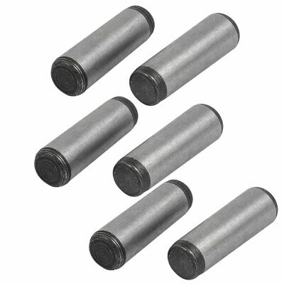 Carbon Steel GB117 20mm Length 6mm Small End Diameter Taper Pin 6pcs