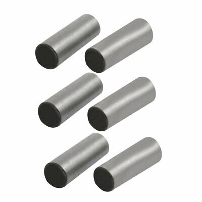 Carbon Steel GB117 12mm Length 4mm Small End Diameter Taper Pin 6pcs
