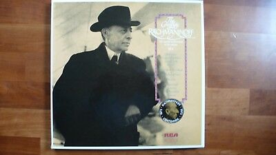 """the Complete Rachmaninoff"" Box 3 Lp Rca Vol. 4 Mit Booklet"