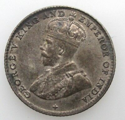 Straits Settlements 5 cents 1919 British Colonial