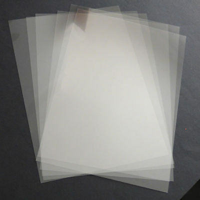 15 A4 Inkjet Printable Clear  Film Sheets ideal for projector transparent 15 a4