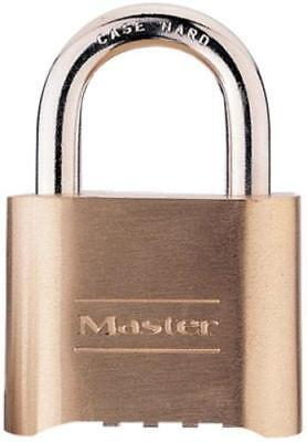 Master Lock 175D Resettable Set-Your-Own Combination Lock, Brass