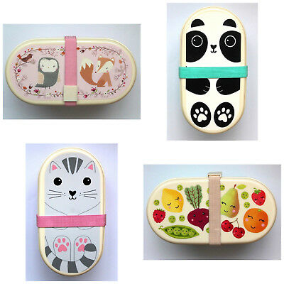 Sass & Belle Bento Box Brotbox Brotdose Lunchbox Sandwich Kindergarten Picknick