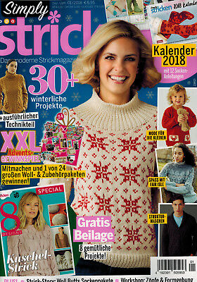Simply Stricken 1/2018 Strickmagazin Strickanleitungen Stricken