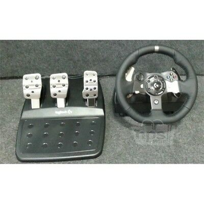 Logitech G920 Driving Force USB Wheel & Pedals Set Black For XBox One & PC