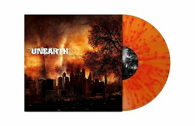 UNEARTH The Oncoming Storm FLAME SPLATTERED Vinyl LP [Ltd 200] RI