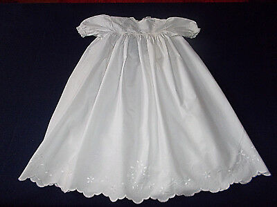 Vintage White Cotton Baby's Christening Gown