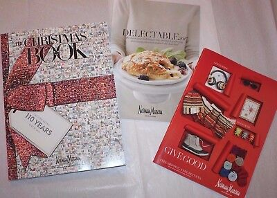 Neiman Marcus The Christmas Book 110 YEARS, Delectable Food & Holiday Catalogs