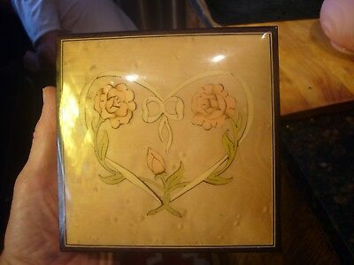 San Francisco Music Box Italian Inlaid Jewelry Box Donato & Maresca