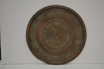 """""""used"""" Brass Serving Tray- Pick Up Only"""