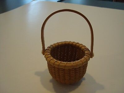 "Nantucket 2"" Signed Basket"