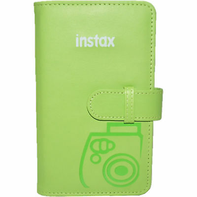 Fujifilm Instax Mini Wallet 108 Photo Album for 8 9 25 50S 90 LIME GREEN #9064