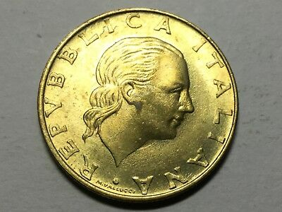 ITALY KM186 1997  200 Lira coin  uncirculated