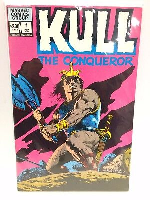 Kull the Conqueror #1 Comic Book Marvel 1982