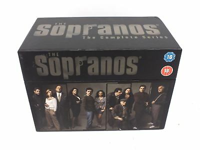 THE SOPRANOS Complete Series DVD Box Set Region 2 Rated 18  - M21