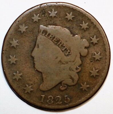 1825 Coronet Head Large Cent   N17062