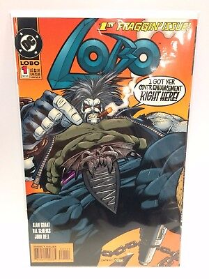 Lobo #1 Comic Book DC 1993