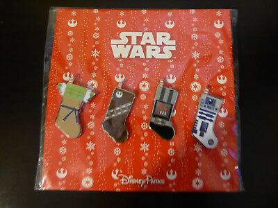 Disney Trading Pins  2017 Star wars Christmas Stockings Booster