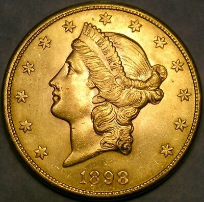 1898 S Liberty Head $20 Gold Double Eagle Appealing Scarce Check The Store 4More