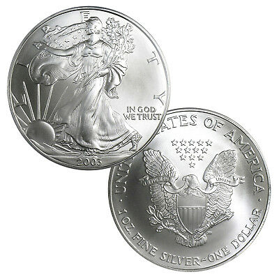 2003 $1 American Silver Eagle Brilliant Uncirculated