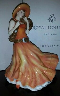 "Royal Doulton Best Wishes Pretty Ladies Figurine 9"" Hn 5142 Brand New/coa"