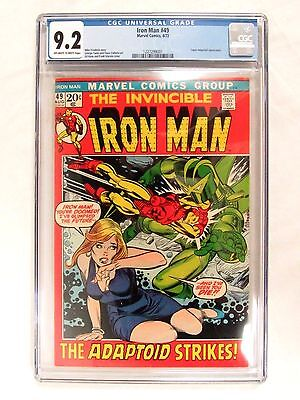 Marvel Comics Iron Man #49 (1972) High Grade Book CGC 9.2 FL584