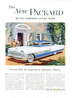Greatest Ride Development in History Packard ad 1955